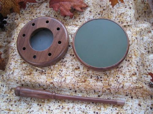 Combo slate-aluminum turkey friction call